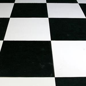 Best Libdeco Location Et Vente De Dcoration Vous Propose Ce Sol En Damier  Noir Et Blanc Pour Vos Dcors Sur Le Thme American Diner With Lino Noir Et  Blanc ...