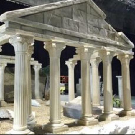Fronton de Temple Grec - Lib deco