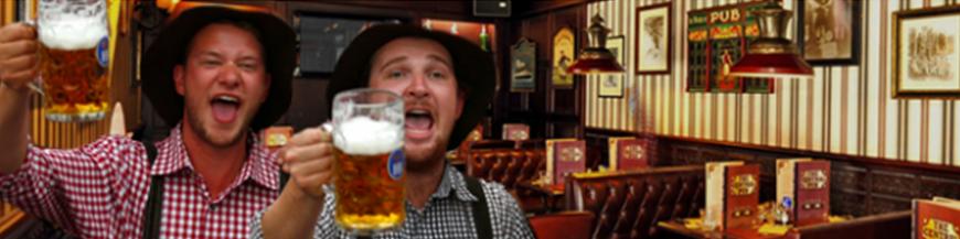 Décoration événementielle Pub anglais: Location d\'éléments de ...