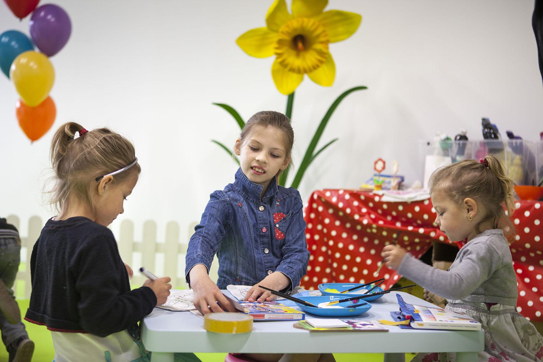 atelier créatif pour les petits