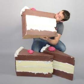 Part de Gâteau 50cm