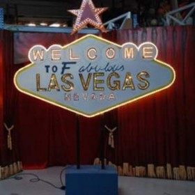 "Panneau ""Welcome to fabulous Las Vegas"""