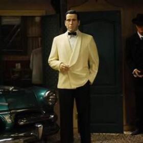 Statue Humphrey Bogart 183cm