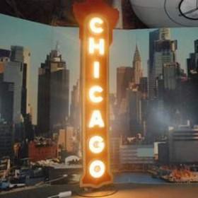 "Néon ""Chicago"" 283cm"