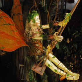 Elf sur une balançoire 260cm