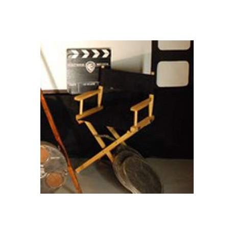 Chaise noire de réalisateur 90cm