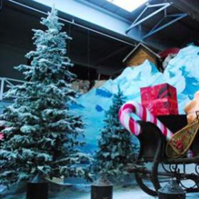Arbre de Noël blanc 370cm