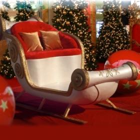 Traîneau du Père Noël 310cm