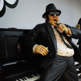 Personnage Elwood, Blues Brothers 194cm