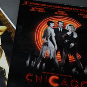 "Affiche ""Chicago"" the musical 160cm"