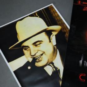 Affiche, poster Al Capone 150cm