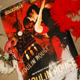 Affiche, poster Moulin Rouge 98cm