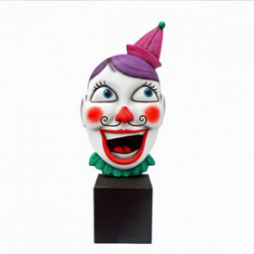Masque clown 212cm