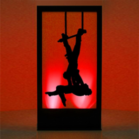 Panneau lumineux Cirque Acrobates 200cm