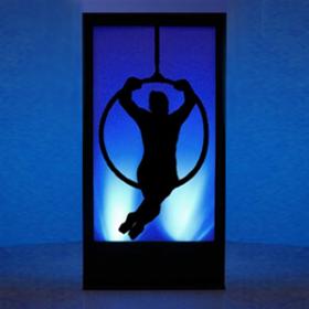 Panneau lumineux Cirque Cerceau 200cm