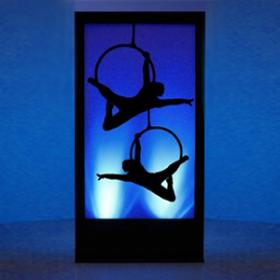 Panneau lumineux Cirque Cerceaux 2 200cm