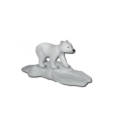 Bébé ours polaire 55cm