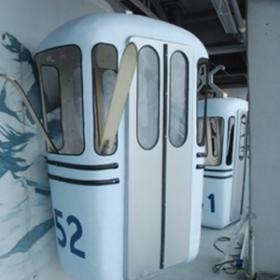 Cabine de ski 250cm