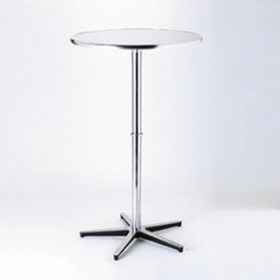 Table de bistrot 110cm