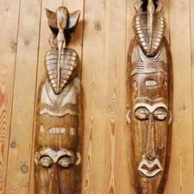 Masque tribal 46cm