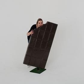 Tablette de chocolat 120cm