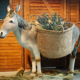 Panier pour âne 150cm