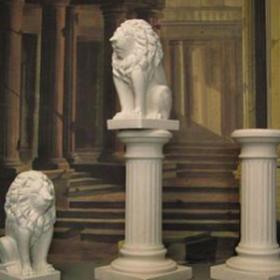 Socle en pierre pour statue, 106cm