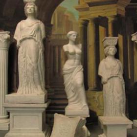 Statue femme 200cm
