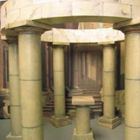 Cercle de pierres 32cm