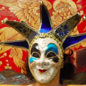 Masque vénitien Pierot