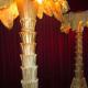 Palmier électrique bronze 253cm