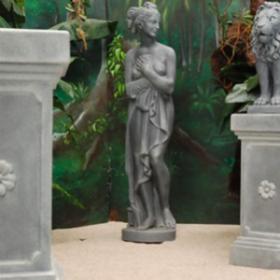 Statue grise de femme 165cm