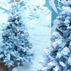 Arbre de Noël blanc 180cm