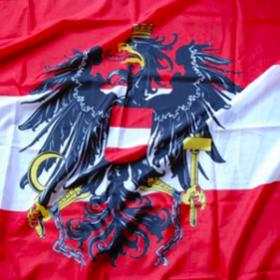Drapeau Autriche 155cm