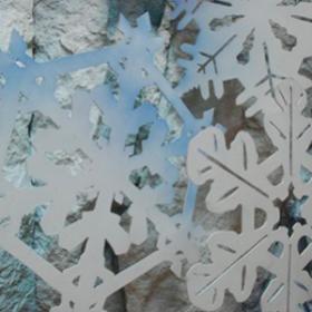 Flocon de neige 2D