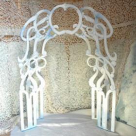 Porte blanche 284cm