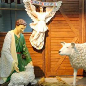 Ange crèche de Noël 110cm