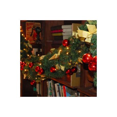 Guirlande de Noël lumineuse 270cm