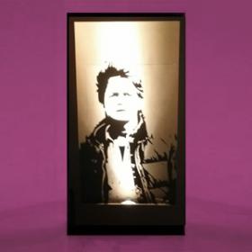 """Panneau lumineux """"Retour vers le futur"""" - Marty portrait 200cm"""