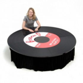 Table vinyle 185cm