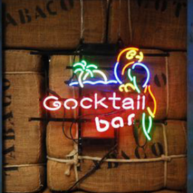 "Néon ""Cocktail Bar"" 43cm"