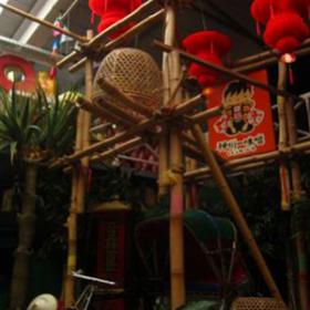 Tour en bambou 420cm