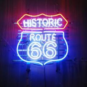 """Néon """"Historic Route 66"""""""