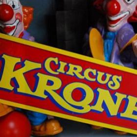 Pancarte de cirque 75cm