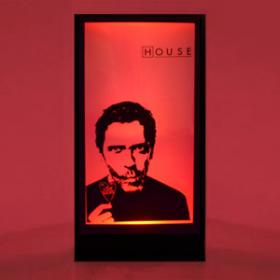 Panneau lumineux Dr House 200cm
