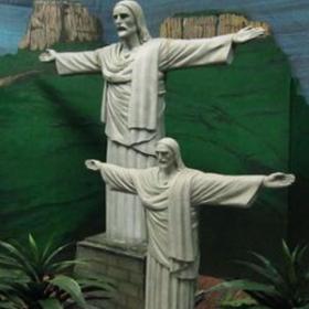 Statue Cristo Redentor 230cm