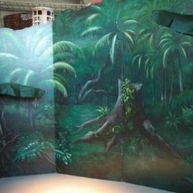 Panneau Jungle 290cm