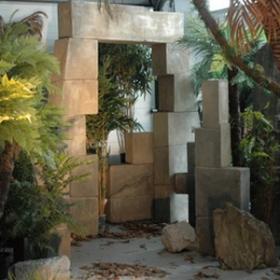 Porte ruine 290cm