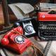 Téléphone noir 20cm