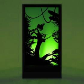 Panneau lumineux Jungle 200cm